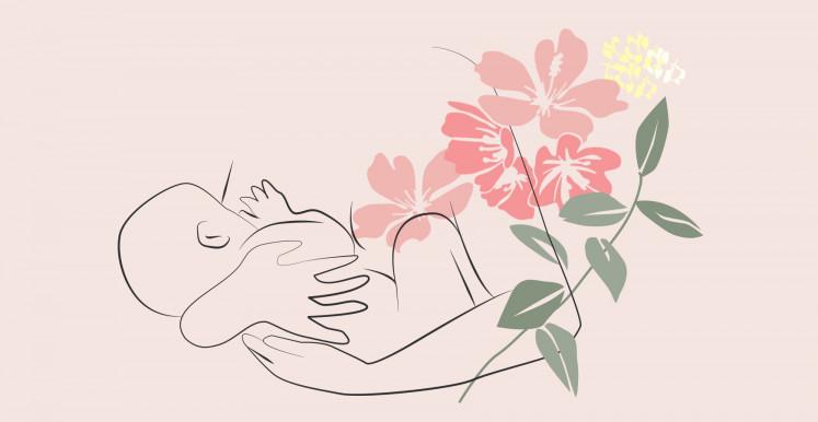 Serviettes Post-Partum hannahpad pour les saignements après accouchement