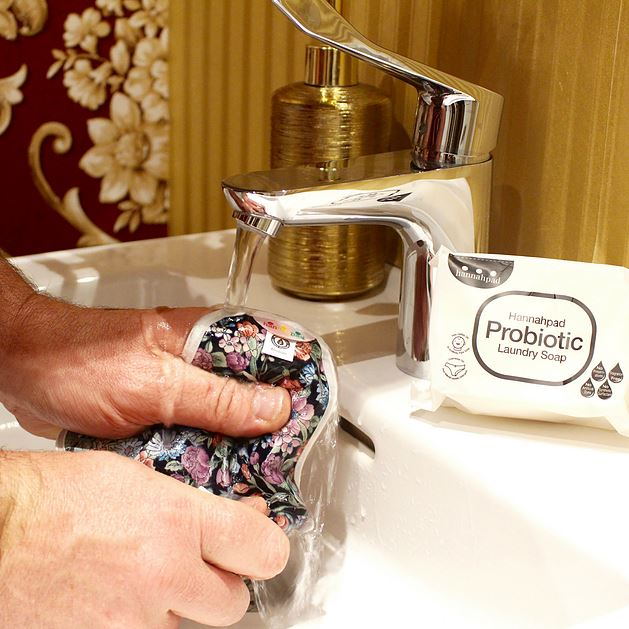 Lavage serviette hygiénique